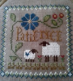 Love these for ornaments - Little Sheep Virtues Patience