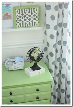 painted dresser/boy room