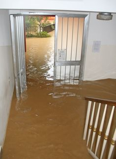 When a water damage loss happens it is important first to find the source of the water and stop it.  Next, make sure that the power is turned off if there is standing water on the floor.