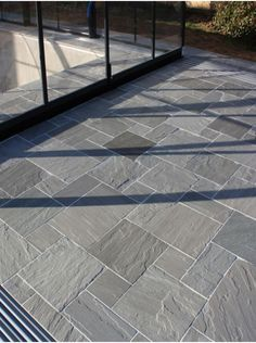Royale Stones supplier of garden paving slabs and patio slabs. We have a wide range of Indian sandstone, granite paving, porcelain paving and slate paving in UK Garden Slabs, Garden Tiles, Patio Slabs, Patio Tiles, Garden Paving, Outdoor Flooring, Concrete Patio, Slate Patio, Outdoor Tiles Patio