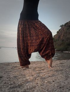 Harem Pants / Baggy Pants / Aladdin Pants / Yoga by AsianCraftShop, $22.00