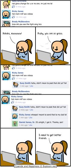 Cyanide and Happiness, a daily webcomic - Facebook