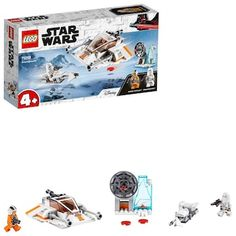 Snowspeeder™, LEGO Star Wars (75268)   CDON Lego Do Star Wars, Star Wars Set, Star Wars Toys, Star Wars Rebels, Shop Lego, Buy Lego, Building For Kids, Building Toys, Lego Sets