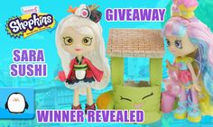 Sara Sushi Shopkins Shoppies Doll Giveaway Announcement by Sparkle Spice. Subscribe here to never miss a video: https://www.youtube.com/channel/UCsRW8ikkc-uISUXtNKBfFcw?sub_confirmation=1 - Watch my last video: https://www.youtube.com/watch?v=pgjb2ei7C5E Video Links from Annotations Shopkins Valentines Day Sweet Heart Collection Holiday Set with 6 Exclusives https://www.youtube.com/watch?v=2epHpjpRNNA Pretty Puff Limited Edition Shopkins Season 4 Play Doh Surprise Egg Limited Edition Hunt…