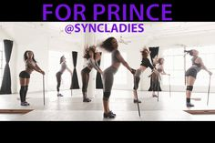 The Syncopated Ladies Salute Prince. Choreography by Chloe Arnold.