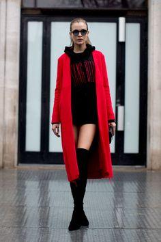 Models Off Duty: Paris Fashion Week AW17 - March 2017
