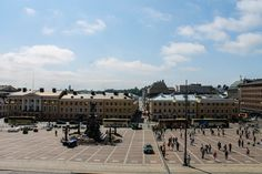 View from Helsinki Cathedral.