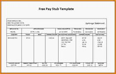 employee pay stubs