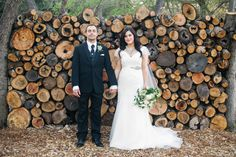 rustic greenhouse wedding | photo by Sarah Q Photography | 100 Layer Cake