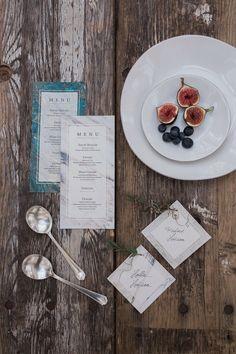 wabi sabi menu and place cards wabi sabi wedding inspiration