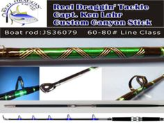 Custom Canyon Sticks -Straight & Bent Butt Combo Rods- – Reel Draggin' Tackle http://reeldraggintackle.com/collections/fishing-rods/products/bent-butt-rods-40-60-pound-class?variant=283035758
