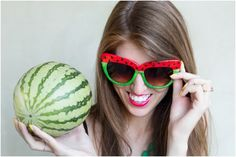 Make This Summer A Bit More Fun With 15 Watermelon Inspired DIY Projects via…
