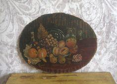 Antique Still Life Oil Painting $35.00