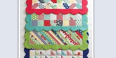 Easy Scrappy Placemats to Spice up Your Kitchen - Quilting Digest