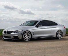 BMW F32 4 series silver