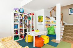 Don't have extra space to devote to a full-time playroom? Check out these fun solutions from HGTV.com for adding a play area to any room in the house.