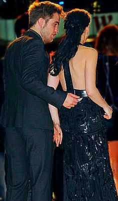 Rob and Kristen at Breaking Dawn 1 London premierre