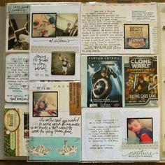 lots of journalling. Lisa Truesdell