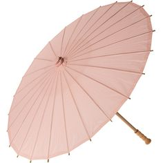 Cultural Intrigue Rose Quartz Pink 32 Inch Premium Paper Parasols ($7.16) ❤ liked on Polyvore featuring home, home decor, umbrellas, accessories, filler, furniture, pink home decor en cultural intrigue