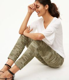 Shop Now - >  https://api.shopstyle.com/action/apiVisitRetailer?id=651318302&pid=uid6996-25233114-59 Camo Skinny Pants  ...