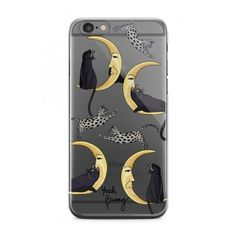 iPhone case Cats ($29) ❤ liked on Polyvore featuring accessories, tech accessories, cat, iphone cover case, cat iphone case and iphone sleeve case