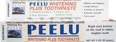 PEELU WHITENING PLUS TOOTHPASTE Bani Pe Net, White Smile, Peppermint Oil, Natural Cleaning Products, Tea Tree Oil, Teeth Whitening, Cleanse, Health And Wellness, Tooth