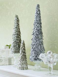 décoration de table pour Noël sapin décoratif DIY pour la table