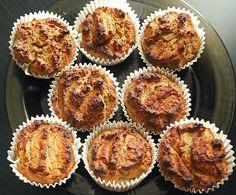 proste i szybkie bananowe muffiny | alpacasquare - zaburzenia hormonalne & zdrowe odżywianie