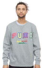 Puma Clothing, Dr. Logo Crewneck