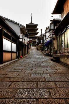 Yumemizaka, Kyoto, Japan: photo by babydoll