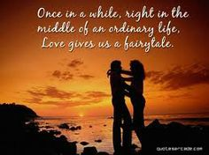 I love my amazing and wonderful husband, John!  He is my fairytale! I am VERY blessed!