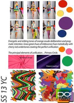 Spring / Summer 2013, Women's Color Trends