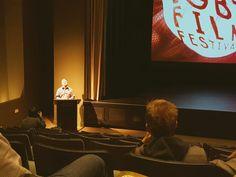 "I just presented the next film at the Inside Out Ottawa LGBT Film Festival ""Esteros"". Our PIPSC Human Right Committee is sponsoring a film. Je viens de présenter le film ""Esteros"" lors du festival LGBTQ d'Ottawa.  Https://shar.es/1IzKgc"