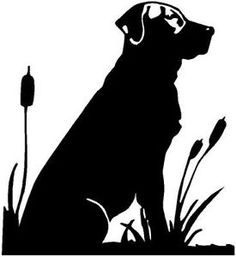 Labrador hunting clipart black dog on pinterest black labs labradors