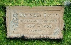 Dominuque Dunne - Poltergeist..She played the oldest sister w/the dark hair. Her father is the famous author, Dominick Dunne.