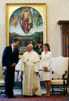 King Felipe and Queen Letizia Visit Pope Francis | MYROYALS &HOLLYWOOD FASHİON