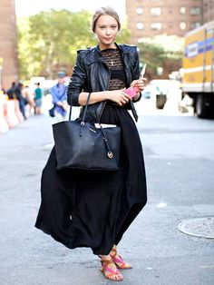 Street Style at Spring 2014 Fashion Week - Marie Claire