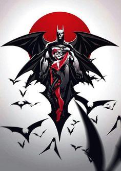 Batman & Harley