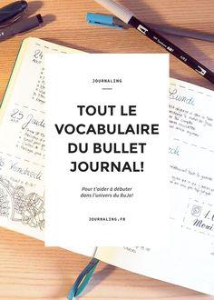 Le concept du Bullet Journal nous arrive tout droit des États-Unis, et je ne vous présente plus les blogs référents en la matière que j'affectionne particu
