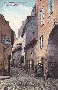 Russia Latvia Old Riga PPC Pre 1917 | eBay