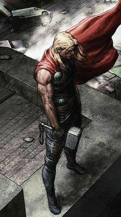 nice Thor, o Deus do Trovão: Terra Arrasada Marvel Dc Comics, Marvel Now, Bd Comics, Marvel Heroes, Marvel Avengers, Captain Marvel, Captain America, Nova Marvel, Poster Superman