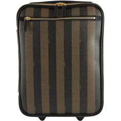 Fendi Trolley Piccolo Suitcase ($2,540) ❤ liked on Polyvore