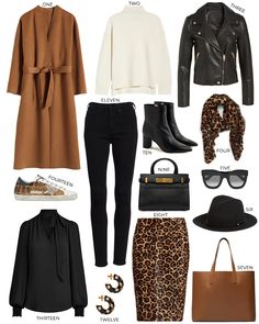 Feeling very inspired by this warm color palette for fall, so I thought I'd do what you might call a mini capsule. What's great about all of these pieces is how effortlessly they.Read More > Fall Wardrobe Essentials, Fall Capsule Wardrobe, Work Wardrobe, Fall Color Palette, Classic Wardrobe, Style Casual, Casual Attire, Winter Stil, Autumn Winter Fashion