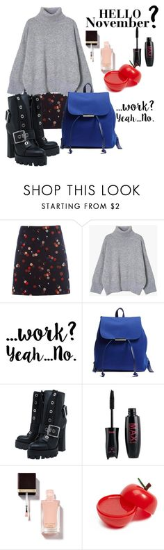 """""""Hello November"""" by fun-me ❤ liked on Polyvore featuring White Stuff, Forever 21, Alexander McQueen and HelloNovember"""