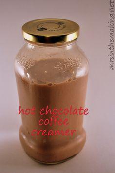 Amazing Hot Chocolate Coffee Creamer