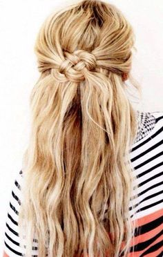 Half Up Half Down Wedding Hairstyles - MODwedding