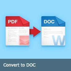 Convert to DOC