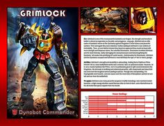 Grimlock by CitizenPayne on DeviantArt