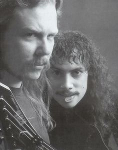 #Kirk Hammett #James Hetfield