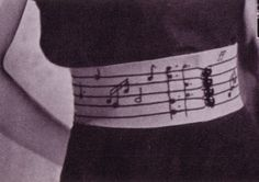 Make a 1940s music belt | Knit for Victory